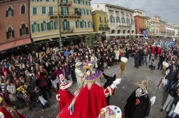 Carnevale a Verona e Provincia