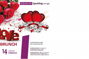 Love Brunch e Love Dinner da Aqualux