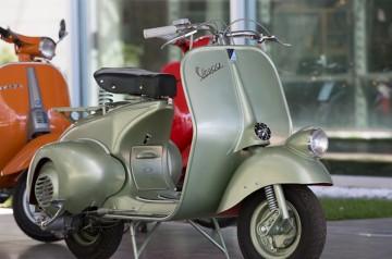 #Exhibition Vespa: 70 anni per 70 modelli