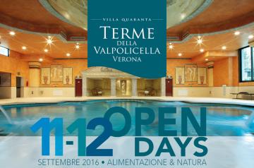 Open Days a Terme della Valpolicella - Villa Quaranta