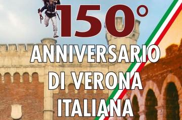 150º anniversario di Verona italiana