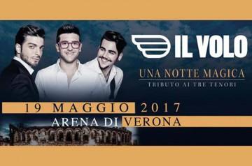 Il Volo in concerto a Verona 2017