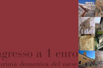 Ingresso a 1€ la prima domenica del mese a Verona