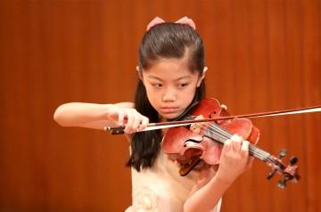 Hannah Wan Ching violino a Verona