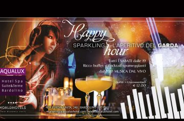 Sparkling Happy Hour all'Aqualux Hotel