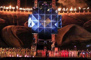 Aida all'Arena di Verona - Versione Futuristica