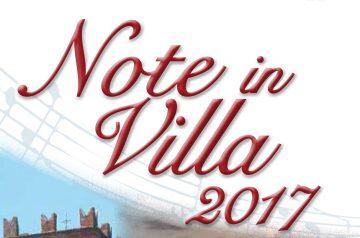 Note in Villa 2017