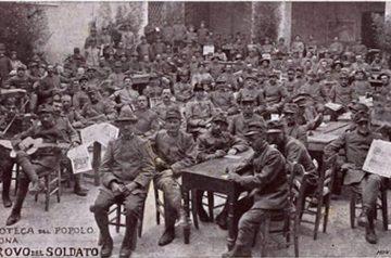 Scrivere/leggere in guerra: Verona 1915 -1918