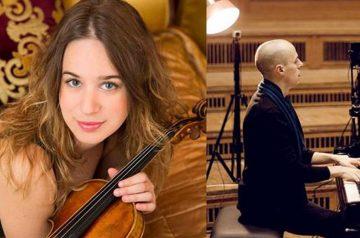 Anna Tifu, violino, Julien Quentin, pianoforte