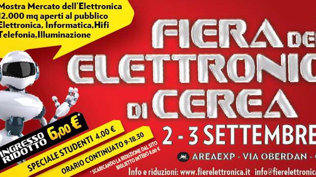 Fiera Dellelettronica Calendario 2020.Fiera Dell Elettronica Di Cerea Carnet Verona Carnet Verona