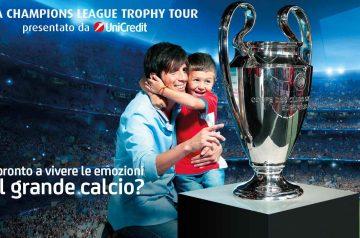Uefa Champions Leauge Trophy Tour ad Aquardens