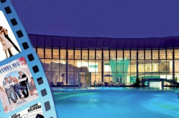 Cinema in acqua ad Aquardens