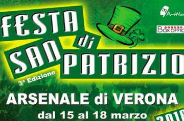 Festa di San Patrizio 2018 a Verona