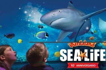 Speciale 10 anni di Gardaland Sea Life