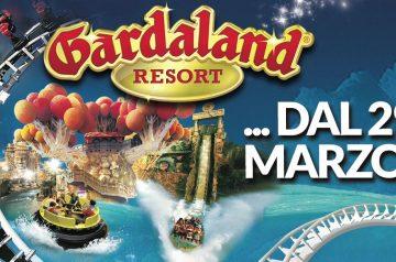 Apertura stagionale Gardaland 2018