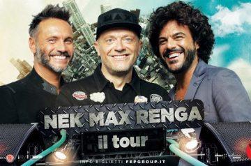 Nek, Max e Renga all'Arena di Verona