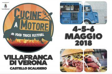 Cucine a Motore Food Truck Festival a Villafranca