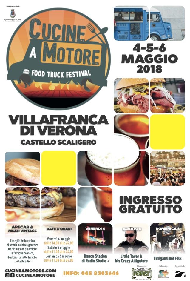 Cucine A Motore Food Truck Festival A Villafranca Carnet Verona Carnet Verona
