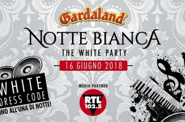 Notte Bianca - The White Party a Gardaland