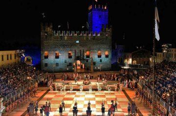 La Partita a scacchi di Marostica a personaggi viventi
