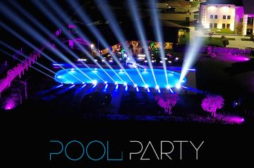 Pool Party a Villa Quaranta