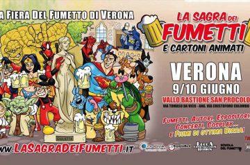 La sagra dei Fumetti a Verona