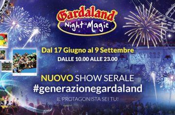 Gardaland Night is Magic