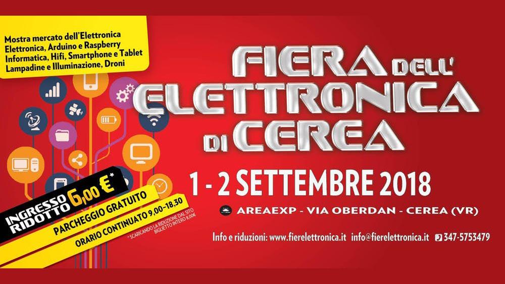 Fiera Dellelettronica Calendario 2020.Fiera Dell Elettronica 2018 A Cerea Carnet Verona Carnet
