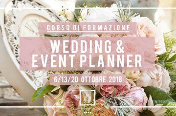 Corso di formazione Wedding & event Planner