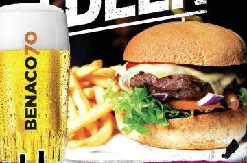 Serata Burger Street & Beer con Benaco70