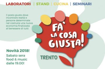 Fa' la Cosa Giusta! Trento 2018