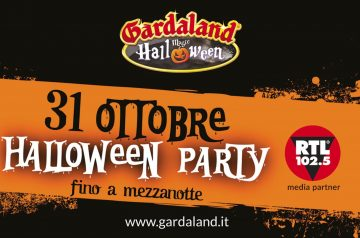 Halloween Party 2018 a Gardaland