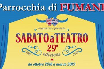 Sabato a Teatro 2018/2019