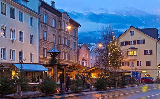 Christmas Market Innsbruck St. Nikolaus