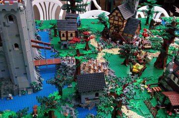 Mattoncini in Valpolicella - esposizione LEGO