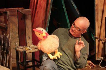 """Spettacolo per bambini """"La gallinella rossa"""""""