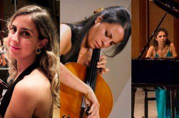 Emma Parmigiani, Ludovica Rana e Costanza Principe