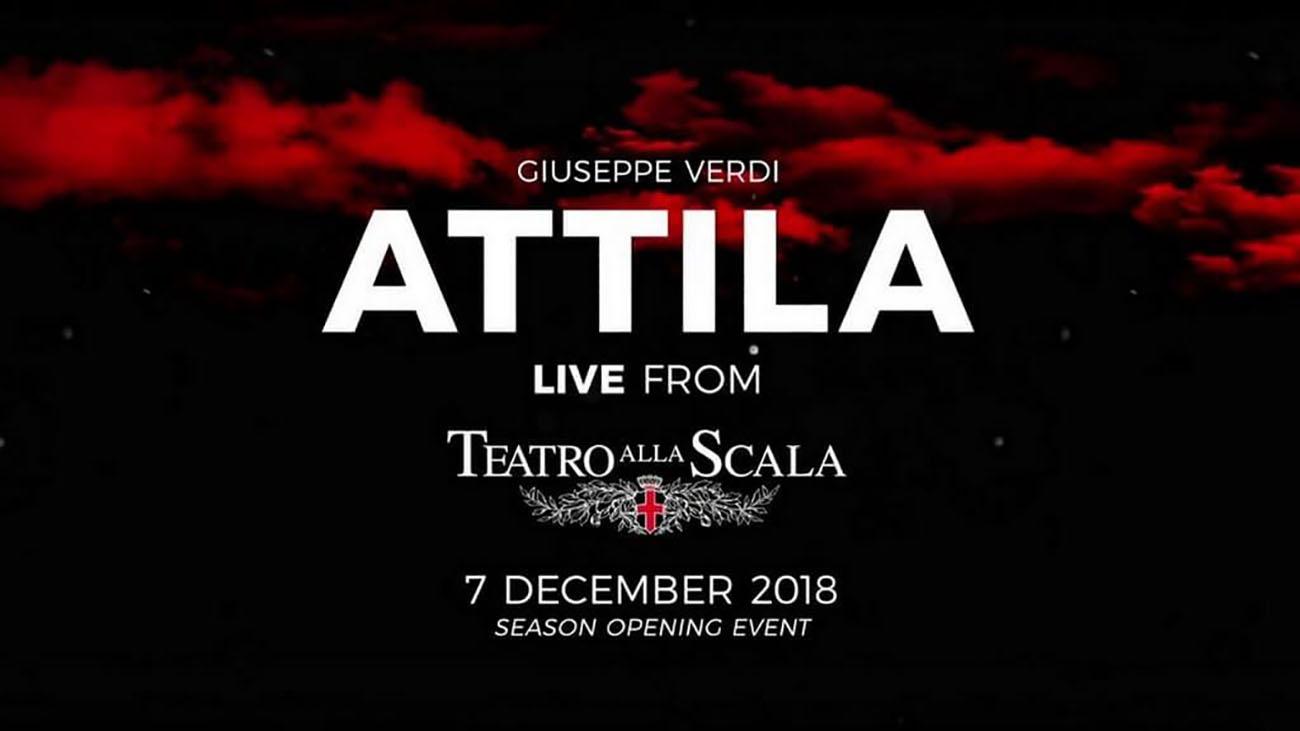 Calendario Teatro Alla Scala.Diretta Attila Dal Teatro Alla Scala Di Milano Carnet