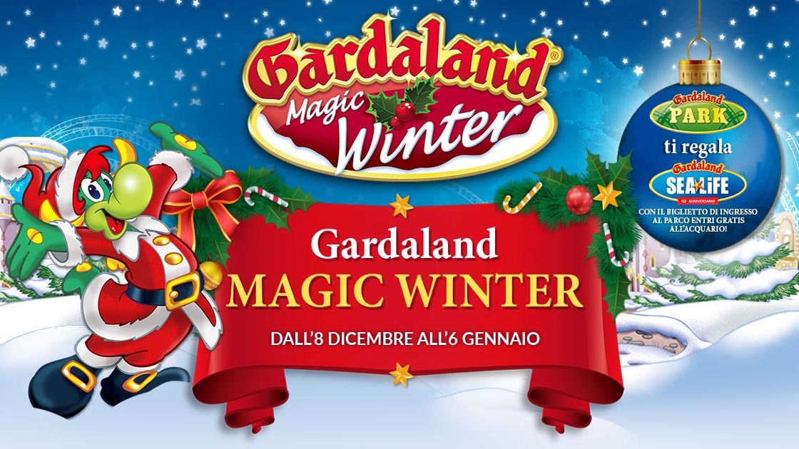 Gardaland Calendario 2020.Gardaland Magic Winter 2018 2019 Carnet Verona Carnet Verona