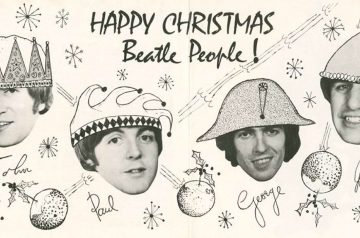 Happy Christmas Beatle People al Cohen