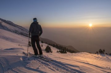 Trentino Ski Sunrise sul Monte Baldo