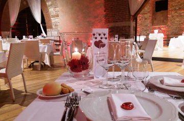 Cena di San Valentino in Dogana Veneta
