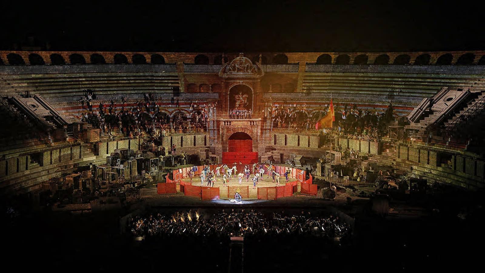 Calendario Arena Verona 2020.Carmen 97 Festival Lirico Arena Di Verona 2019 Carnet