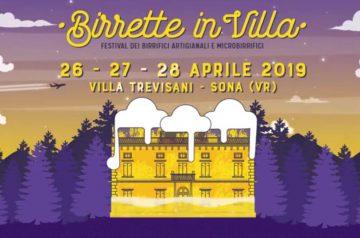Birrette in Villa 2019 a Sona