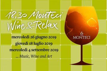 Wine & Relax nel verde parco della cantina Monteci