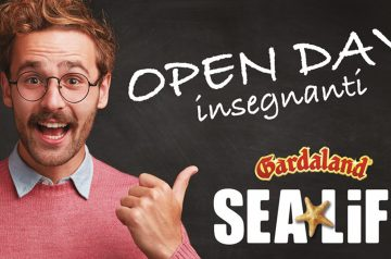 Open Day insegnanti a Gardaland SEA LIFE