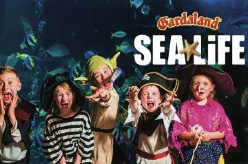 Halloween: regno della magia a Gardaland SEA LIFE