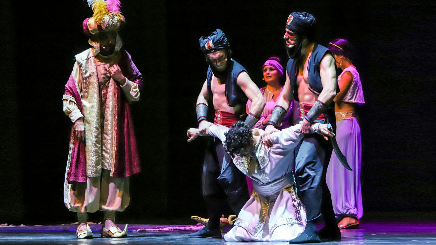 Aladino e la lampada meravigliosa Compagnia del Villaggio