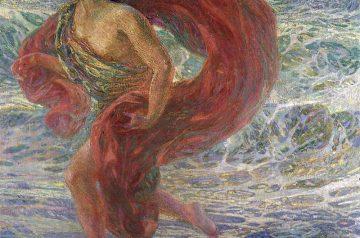 Plinio Nomellini (Livorno, 1866 - Firenze, 1943) Isadora Duncan, 1913