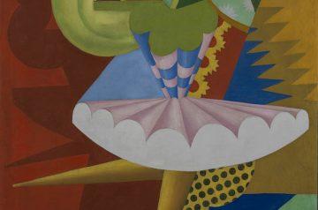 Fortunato Depero (Fondo, TN, 1892 - Rovereto, TN, 1960) Rotazione di ballerina e pappagalli, 1917 Mart, Museo di arte moderna e contemporanea di Trento e Rovereto / Deposito a lungo termine